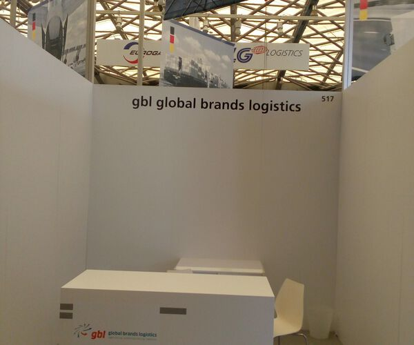 gbl - global brands logistics präsentiert sich auf der transport logistics china 2016 in Shanghai.